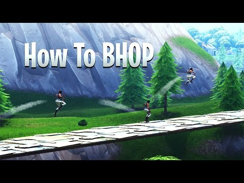 How to Bunny Hop in Fortnite
