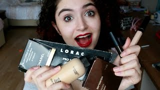 Alışveriş (Mac, Lorac, Chanel, Maybelline, H&M, Hourglass...)