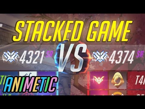 Stacked game - Top 500 Mercy - Overwatch