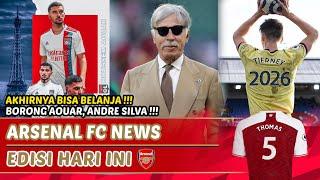 Arteta langsung borong pemain💰Aouar to Arsenal🔴Andre Silva gantikan Lacazette🆕|Berita Arsenal