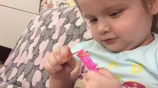 Плетение браслетов из резинок/видеоурок /Саша Петрова