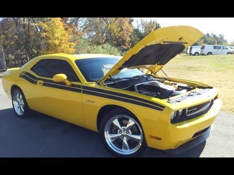 Sold 2010 Dodge Challenger R T 5 7 Hemi Detanotor Yellow