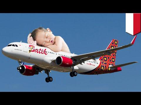 Melahirkan di pesawat: penumpang Batik Air melahirkan di dalam pesawat sebelum landing - TomoNews