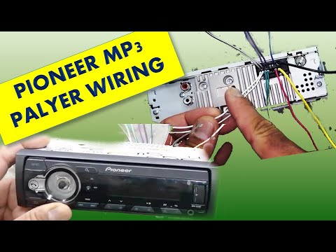 Pioneer Player Wiring Connections, Pioneer Stereo Wiring Diagram