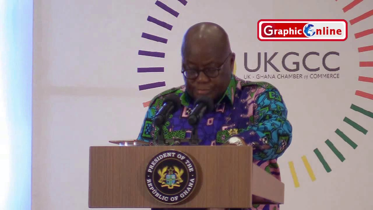 President Nana Addo's full speech at the UK-Ghana Investment Summit
