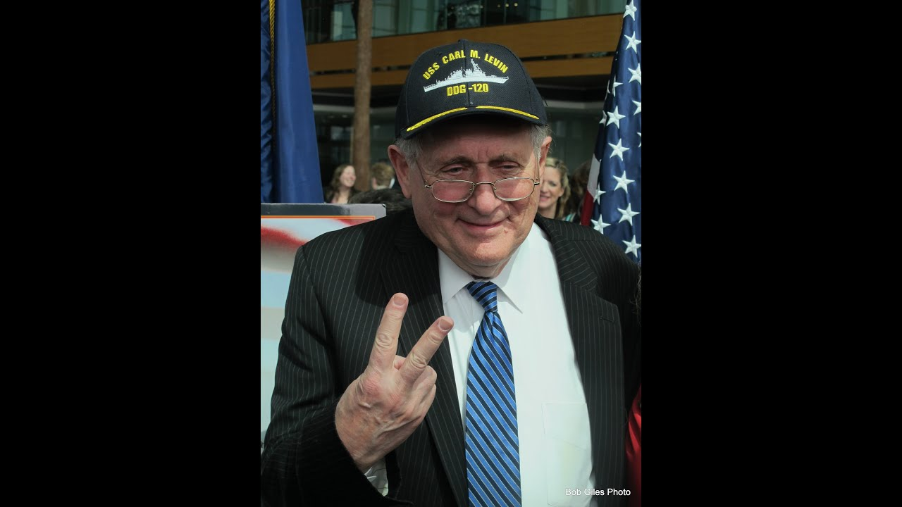 senator carl levin honored in navy ship naming ceremony senator carl levin honored in navy ship naming ceremony