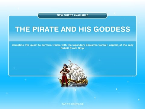 Sims Freeplay The Pirate And His Goddess Quest