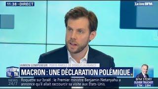 Damien Lempereur débat sur BFMTV