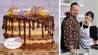 Ich habe einen Special Gast zu Besuch I Seminaked-Drip-Cake