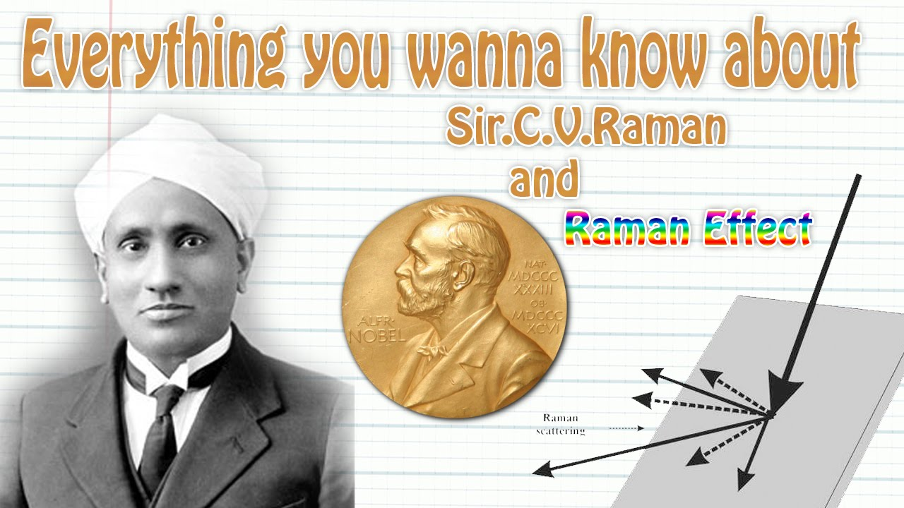 Brief Explanation On Sir C V Raman And Raman Effect Youtube