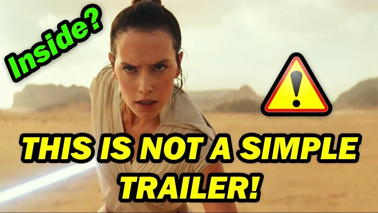 STAR WARS 9 Official Trailer (2019): The Rise of Skywalker