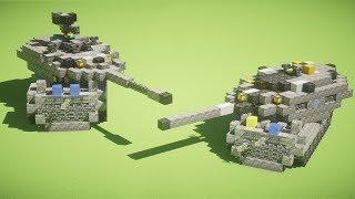 【Minecraft軍事部】戦車模擬戦! クラフタリア戦車最強決定戦【Minecraft】