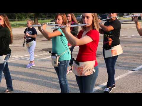 Bangs High School band practice