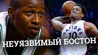 Неуязвимый Бостон и крах Торонто в NBA