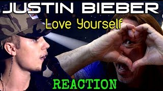 Vocal Coach Reacts To Justin Bieber -  Love Yourself - Live - Ken Tamplin
