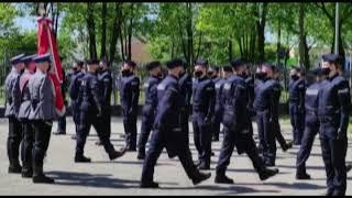 Ślubowanie nowo przyjętych funkcjonariuszy mazowieckiej policji