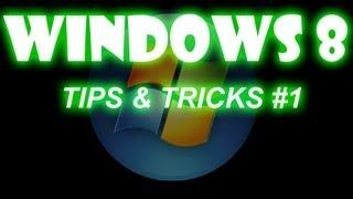 Windows 8 Tips & Tricks: Poner el boton de inicio de regreso | Estilo Metro