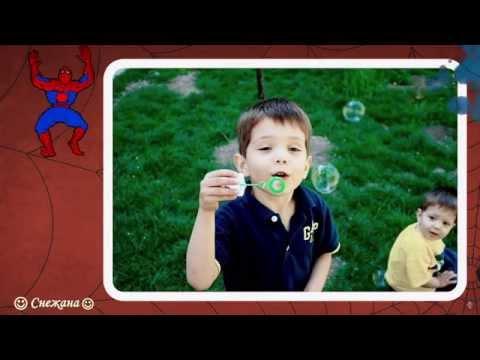 Человек паук. Фото клип на заказ