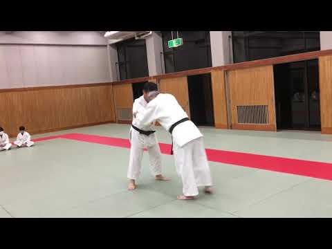 Judo 柔道 立ち技の練習方法 大内刈りなど (鴨柔会)