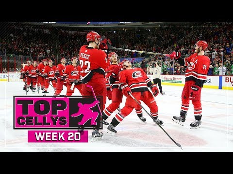 Top Cellys of the Week: Thornton, Tatar, Hurricanes