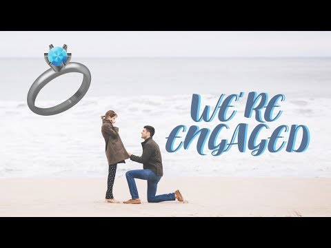 WE'RE GETTING MARRIED!! | Our Engagement Story | Lucie Fink
