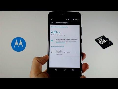 MOTO E4 PLUS Mover O Transferir Aplicaciones A La Micro SD  HD