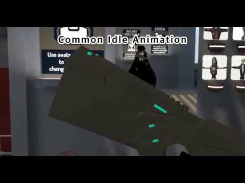 [VRChat] Emote Motion Animation Switching Test