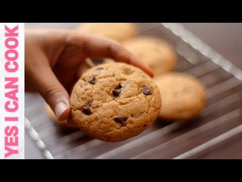 CHOCOLATE CHIP COOKIES Without Oven & Without Any Electric Machine By YES I CAN COOK