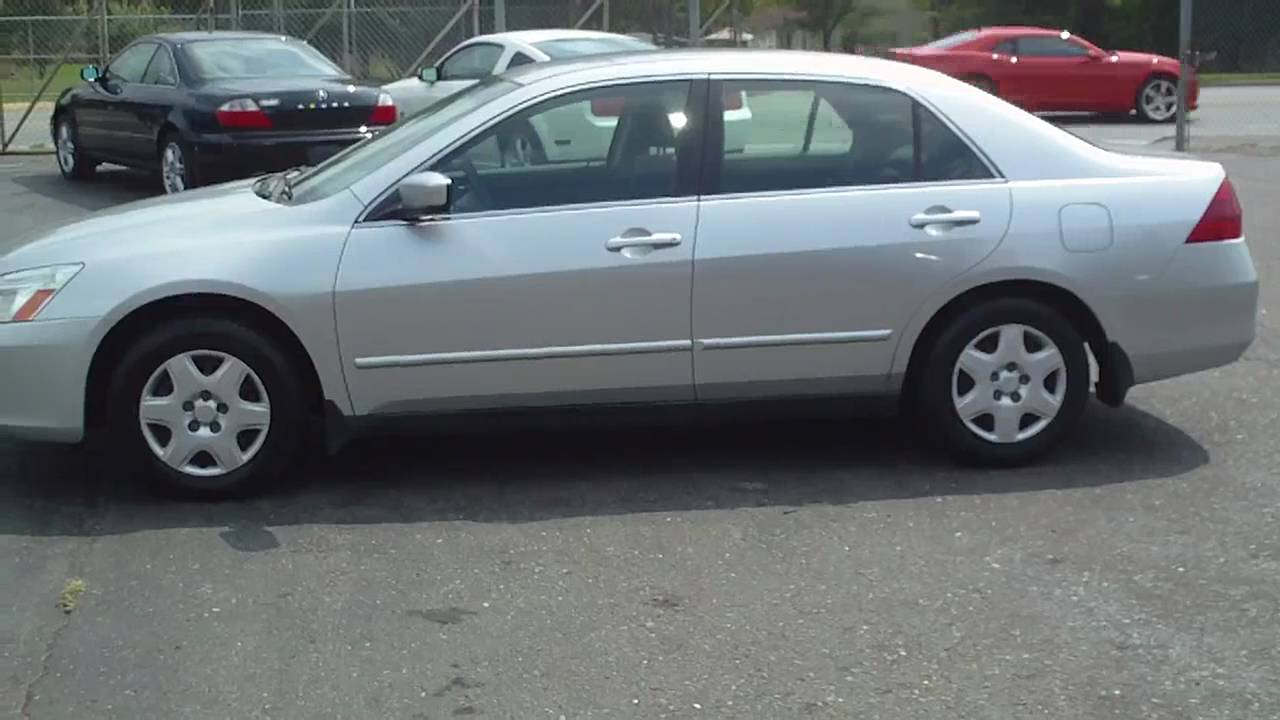 2007 Honda Accord LX Cheap Car Family Sedan Wholesale Price