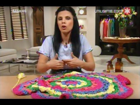 Chaleco circular en crochet. Básicos. Bárbara Langman
