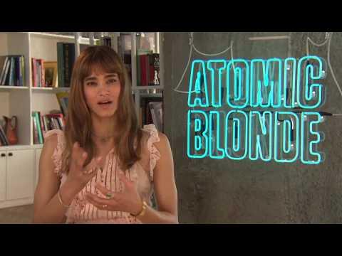 Atomic Blonde Sofia Boutella Interview