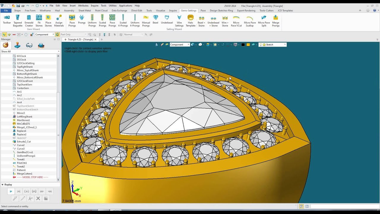 An Introduction To Jewelry Cad Youtube