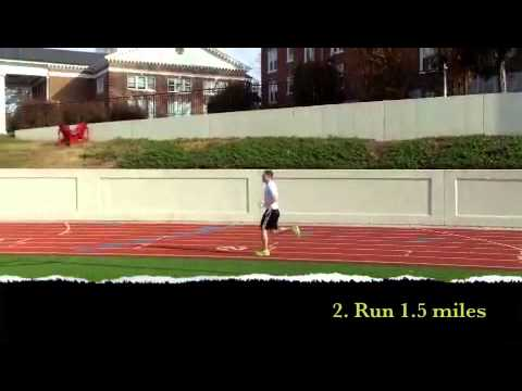 Vo2 Max 1.5 Mile Test Video