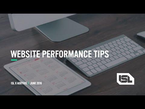 WEBINAR: Tips for Making Your Website Load Faster