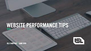 WEBINAR: Tips for Making Your Website Load Faster thumbnail