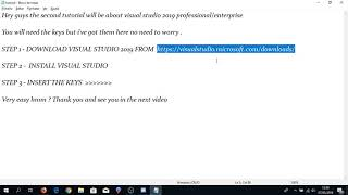 Download Visual Studio Crack Product Key With Community