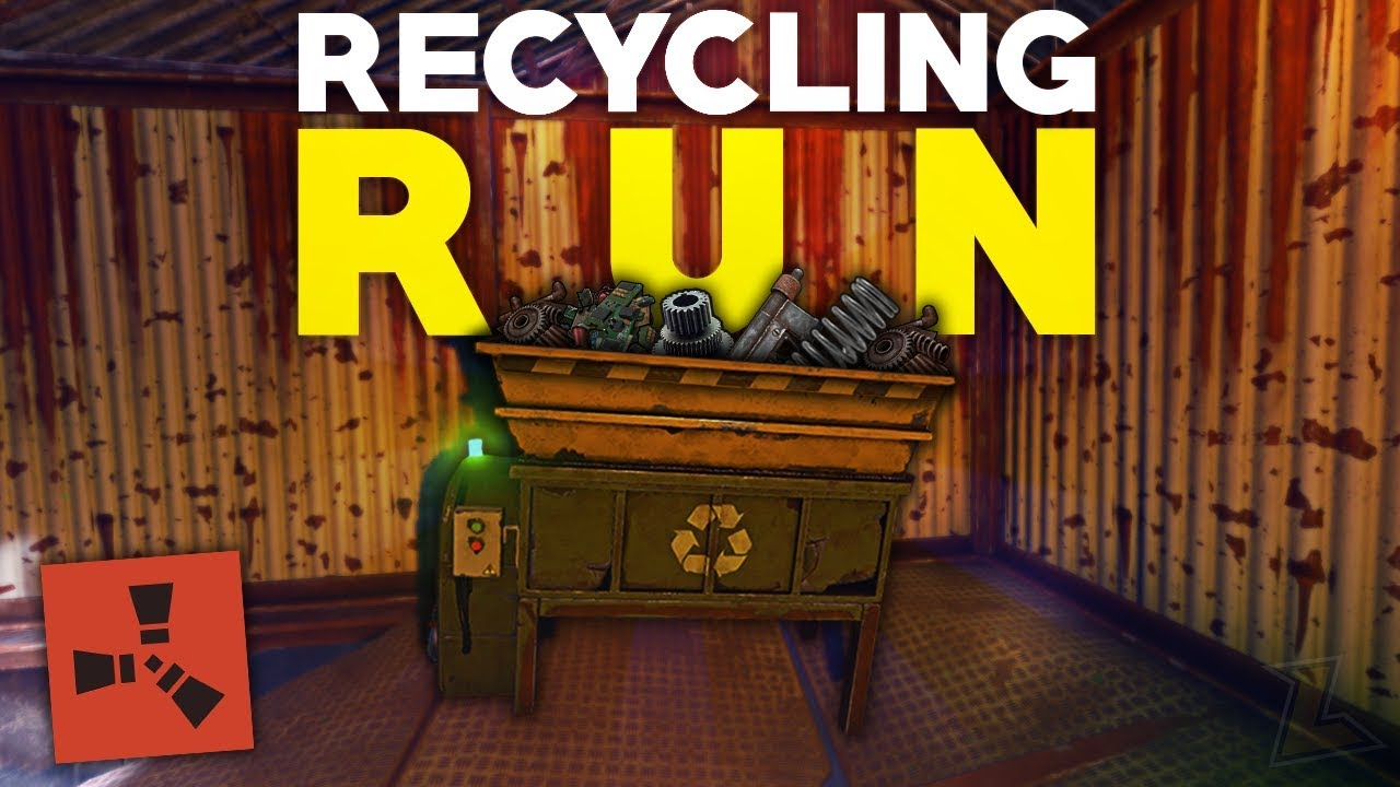 WATER TREATMENT RECYCLING RUN FOR EASY SCRAP - Rust DUO Survival Gameplay  (S2-E3)