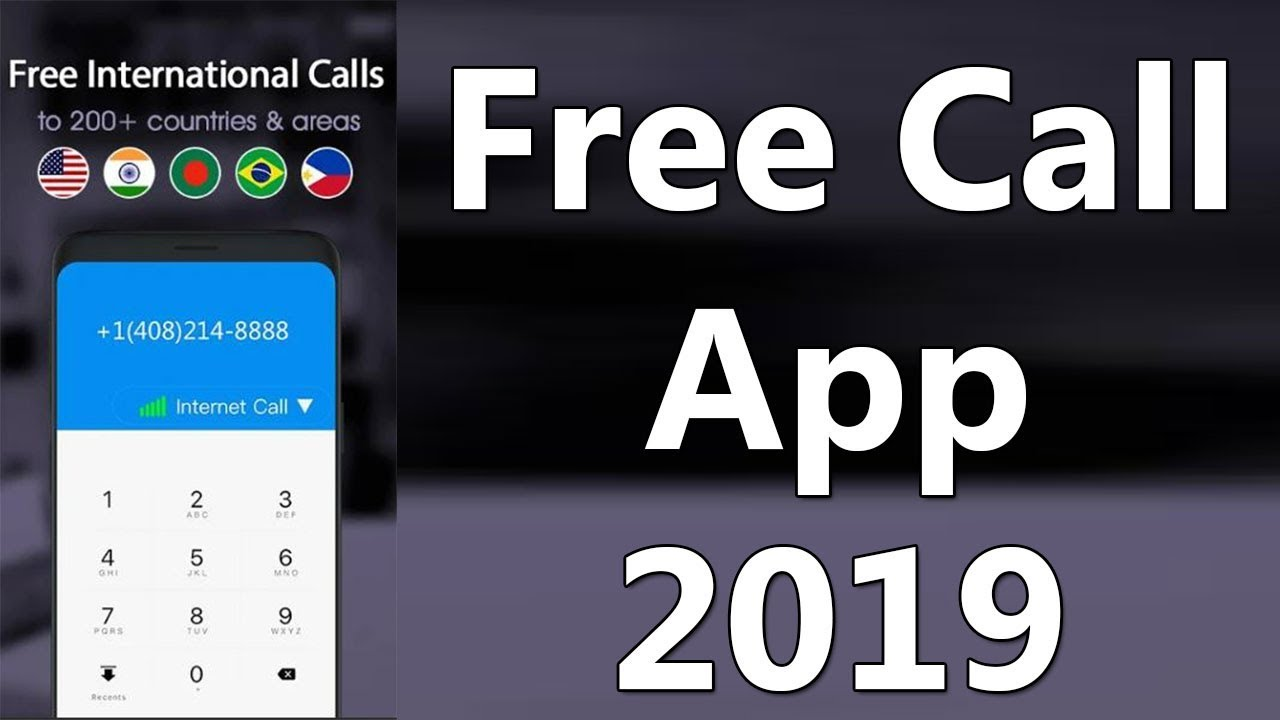 Best free calling app for android 2019 || free call app 2019 || free call  app Pakistan 2019