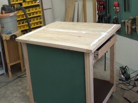 New Workbench for CNC Woodworking Machine