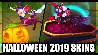 All New 2019 Halloween Skins Spotlight Bewitching Miss Fortune Count Kassadin Witchs Brew Blitzcrank