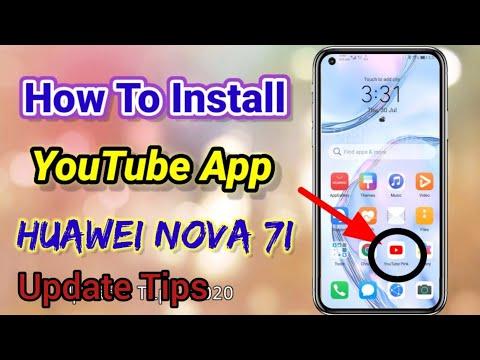 How To Download YouTube APK In Huawei Nova 7i Easily 2020