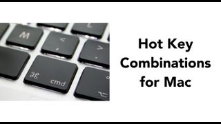 Hot Keys for Mac