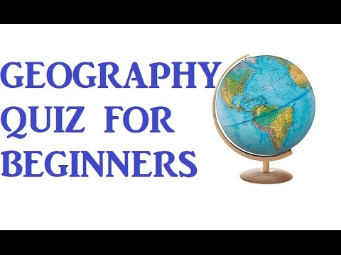 World Geography Quiz for Beginners! | Testing Your Neurons