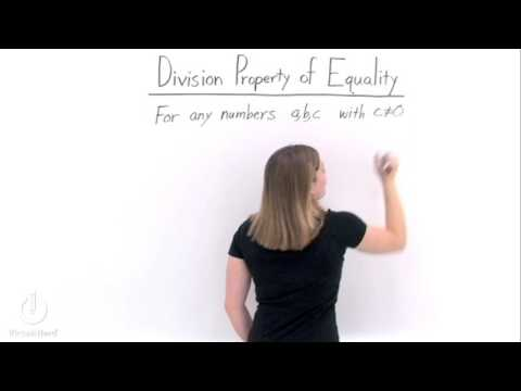 Definition and examples division property of equality   define ...