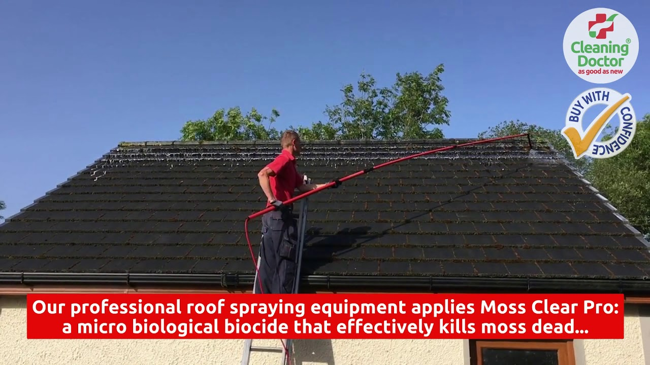 Roof Cleaning Services Antrim Cleaning Doctor