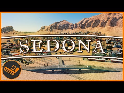 Sedona - Part 49 | HUGE DESERT BUILD (Cities: Skylines)