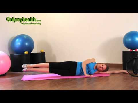 Side Leg Lifts - Pilates Exercise 17 For Beginners - Onlymyhealth.com