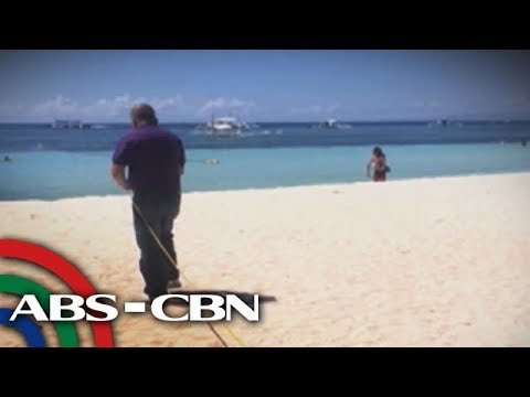 DENR inspects resorts in Panglao, Bohol