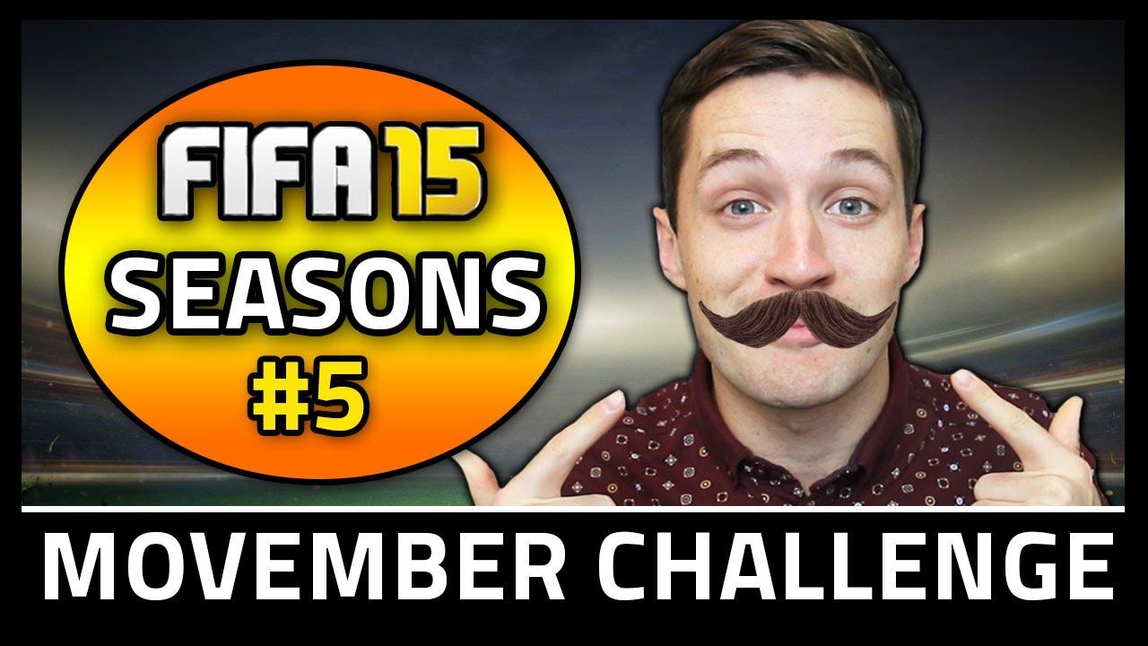 MOVEMBER CHALLENGE! #5 - Fifa 15 Seasons