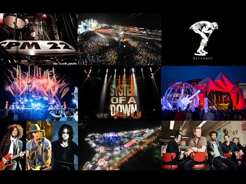 Rock In Rio 2015 - CPM 22, SOAD, QOTSA, Hollywood Vampires e Deftones